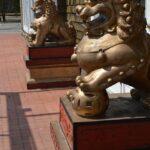 Phoenix Statues