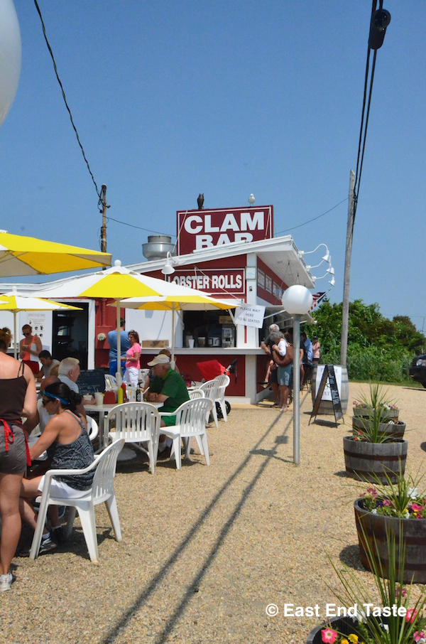 Clam Bar At Napeague for Lunch