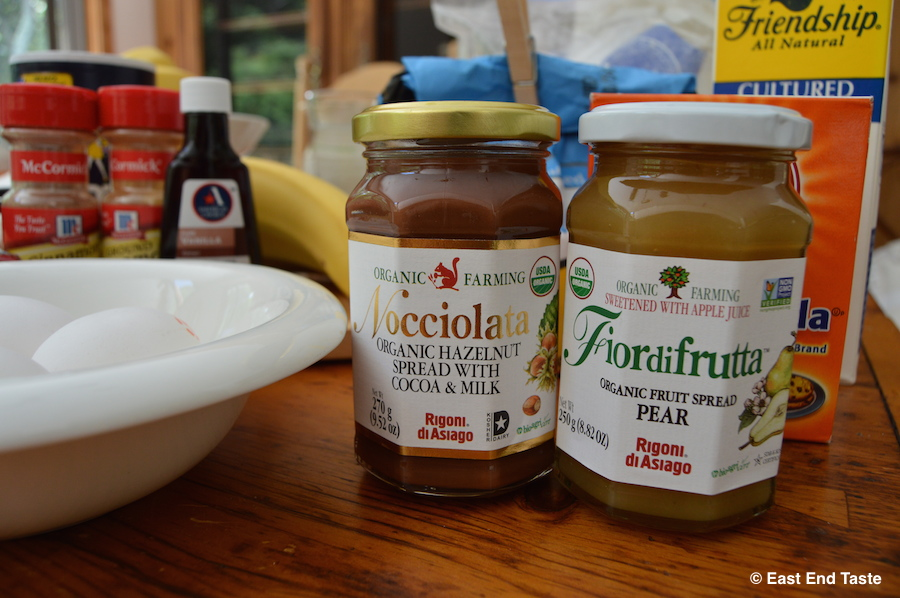 Specialty Food Friday: Recipe featuring Rigoni di Asiago Pears and Nocciolata