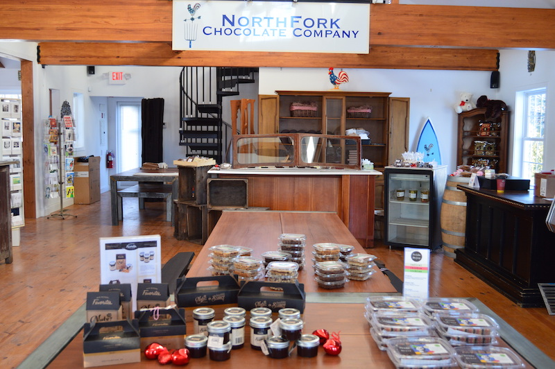 north fork chocolate company east end taste