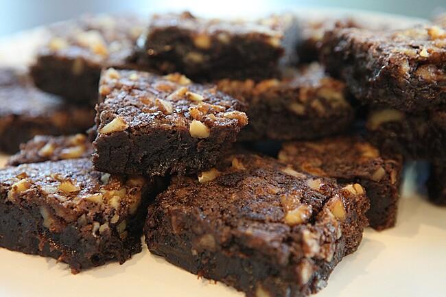 Szauce brownies