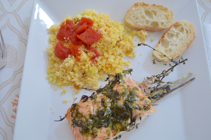 Couscous with Organic Goldenberries