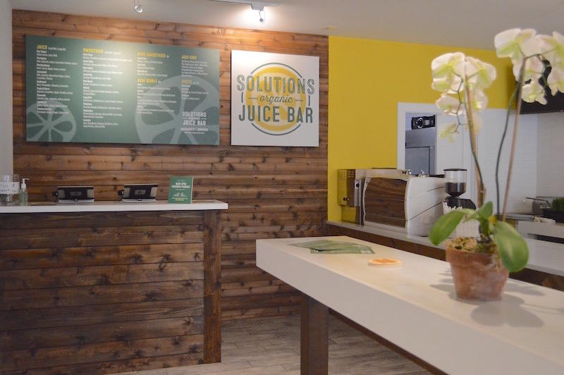 Drink It Tuesday: Solutions Organic Juice Bar