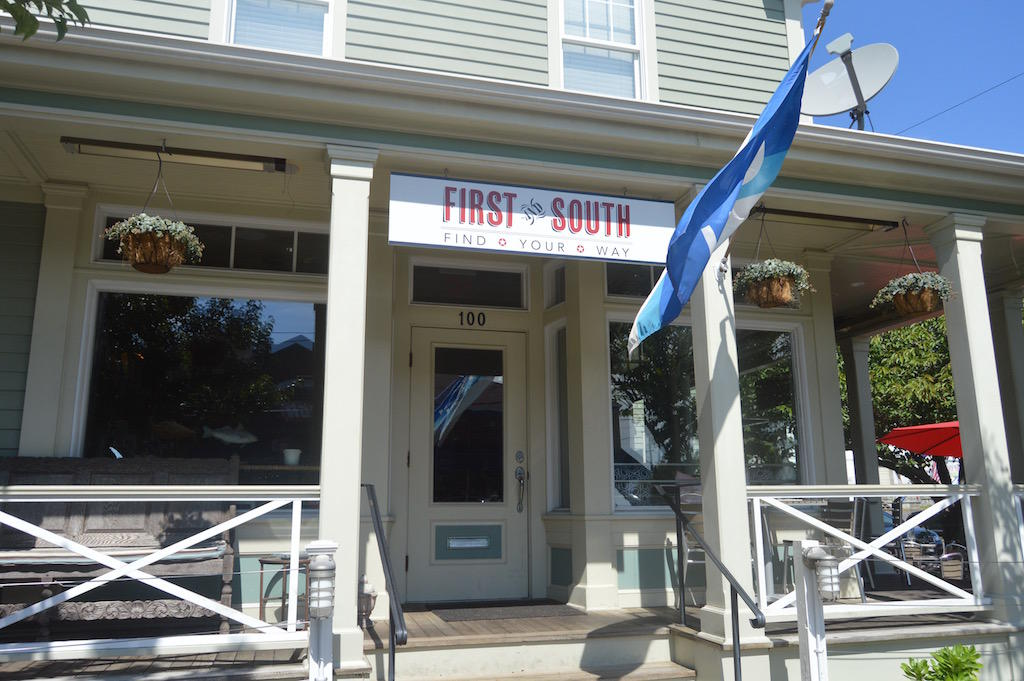 First and South Greenport