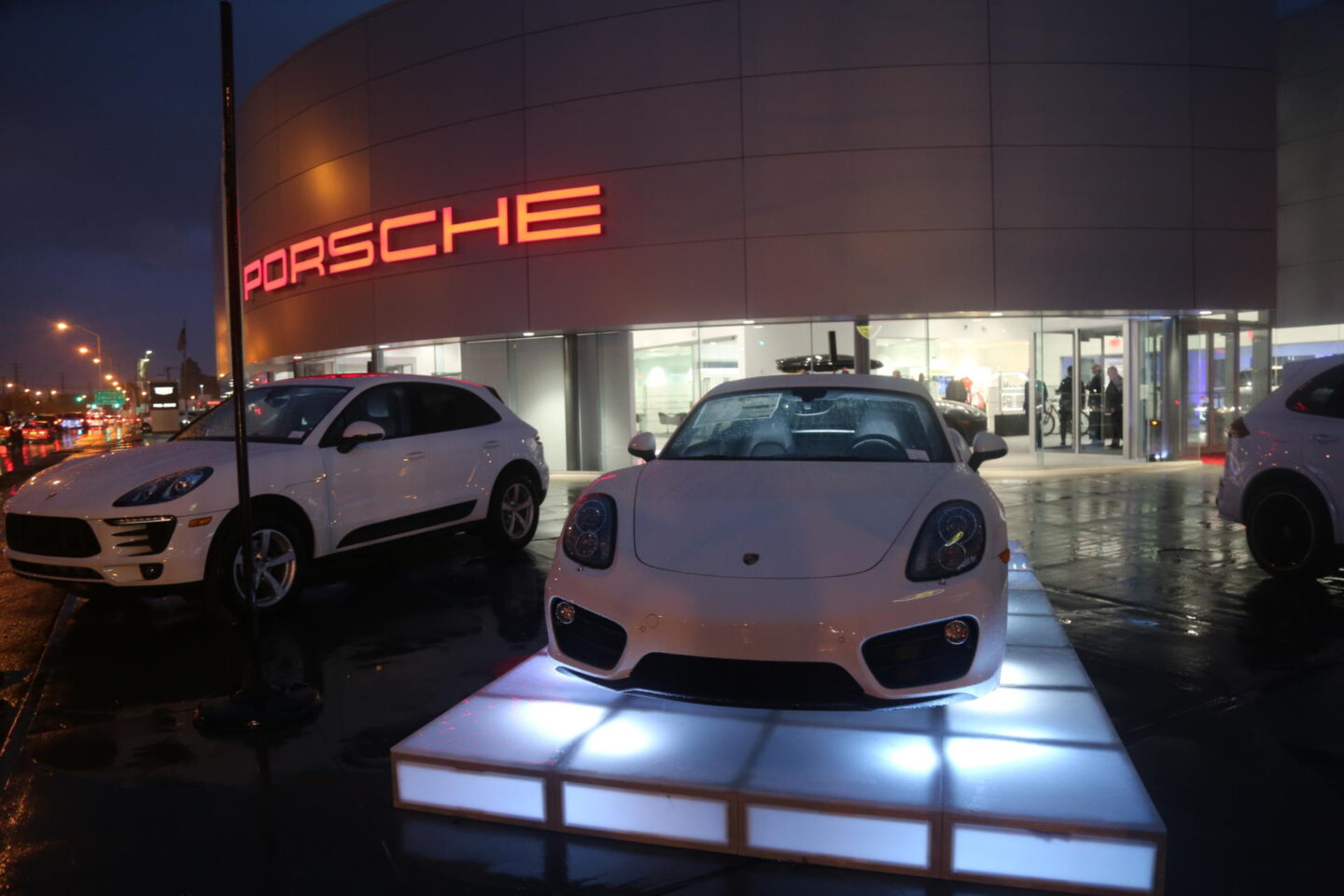 Grand Opening of Porsche of South Shore