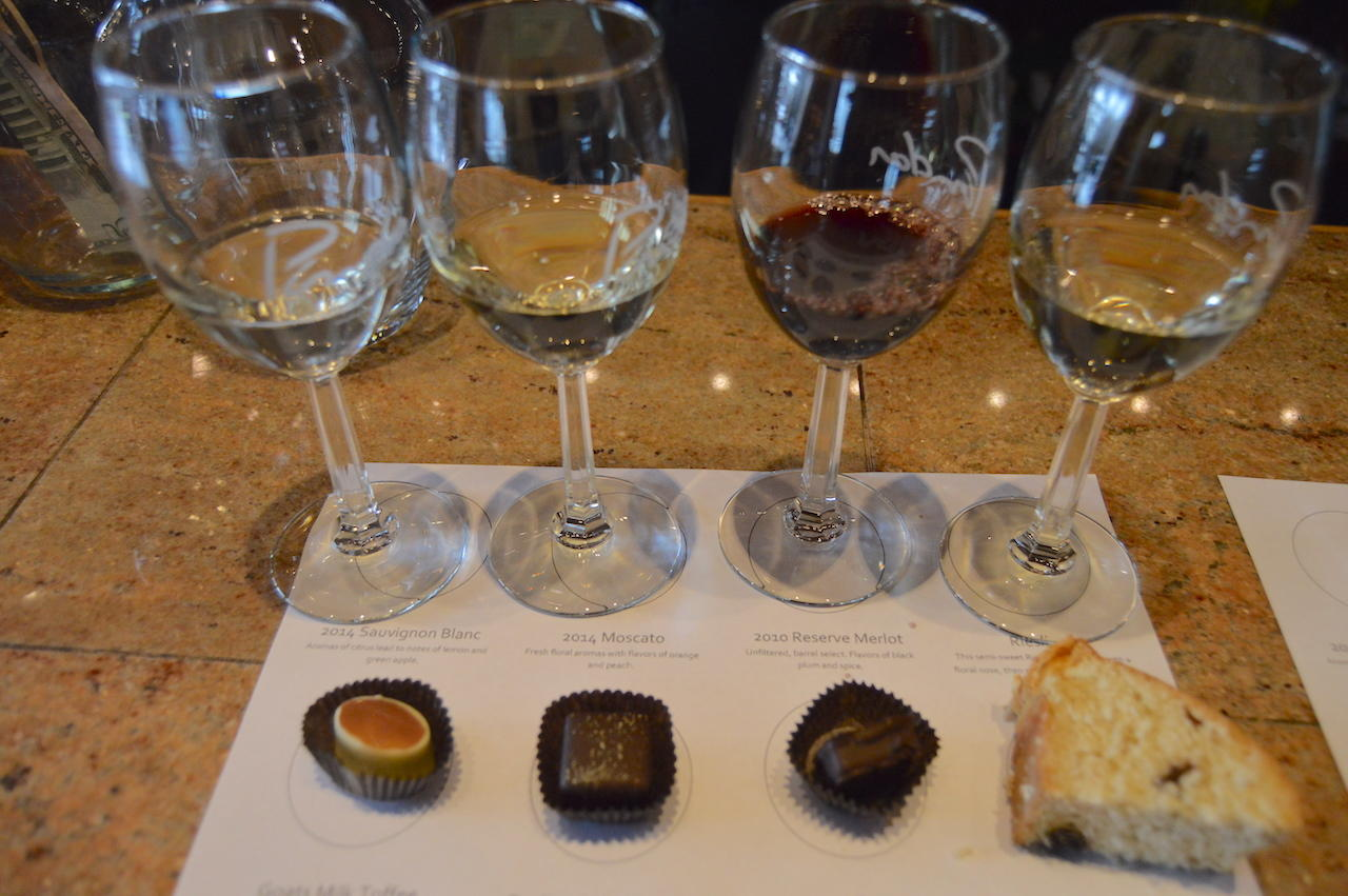 Pindar Vineyards Wine Pairing with North Fork Chocolate Company