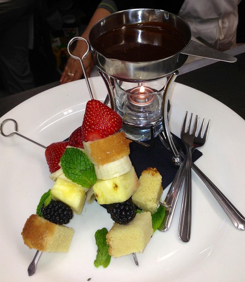 Chocolate Fondue Harbor Bistro
