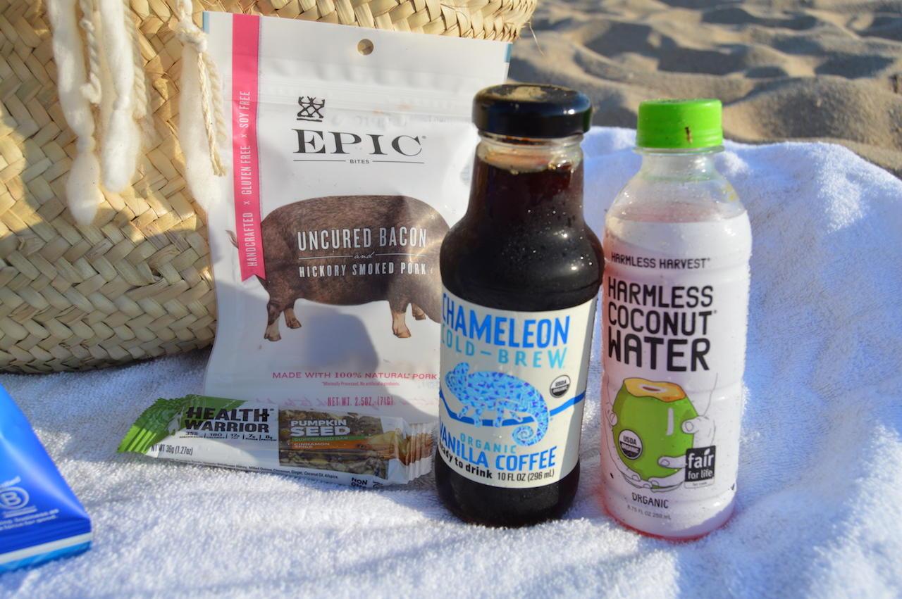 Labor Day Beach Snacks
