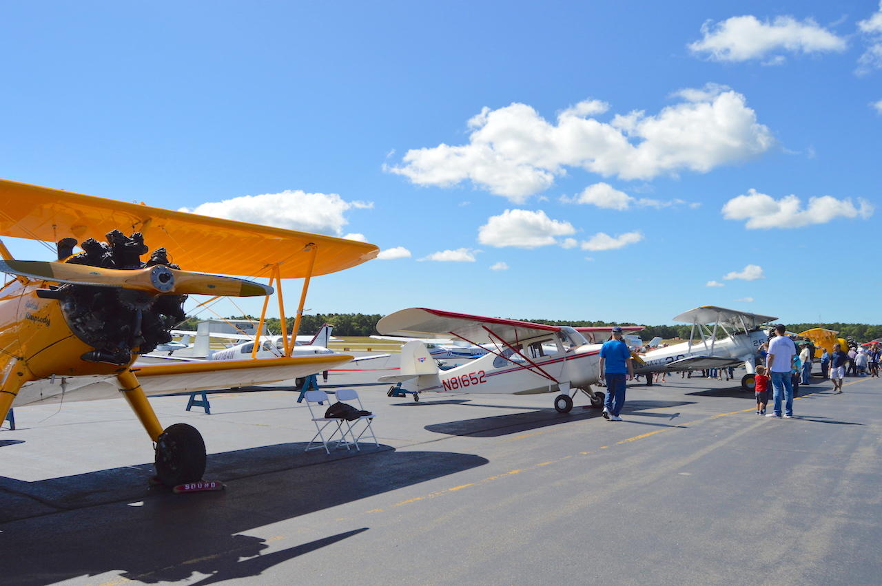 "The East Hampton Aviation Association hosts ""Just Plane Fun Day"""