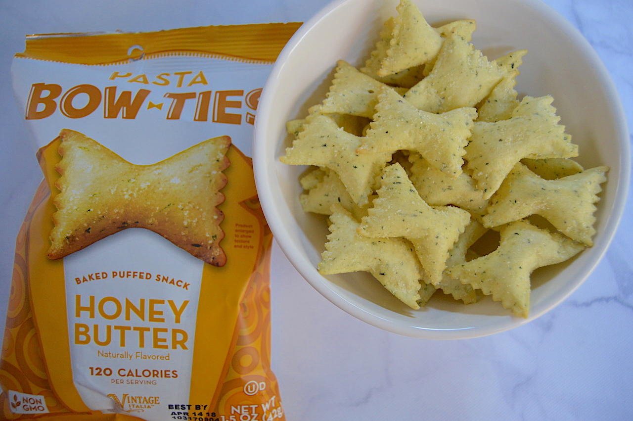 Pasta Snacks Bow Ties Honey Butter