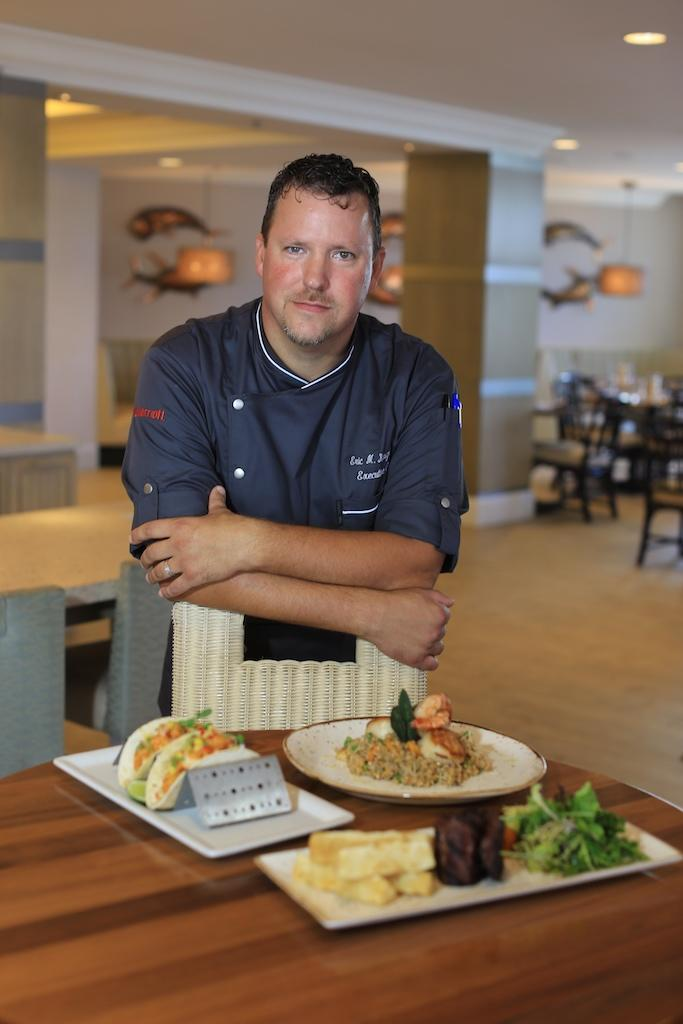 Marriott Pompano Beach Resort & Spa Chef Eric K