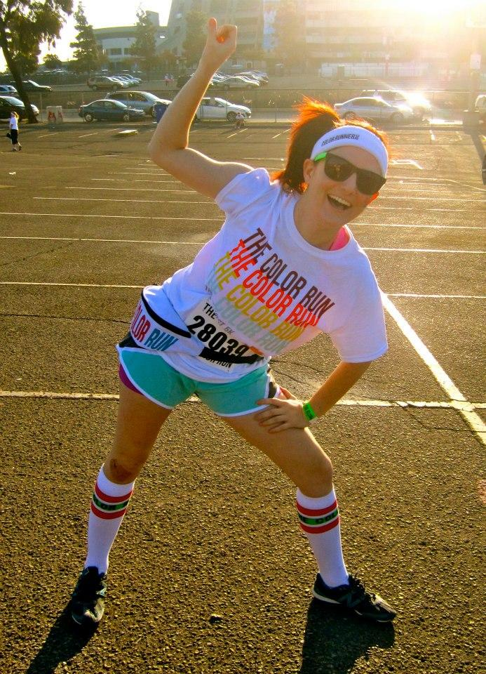 San Diego color run