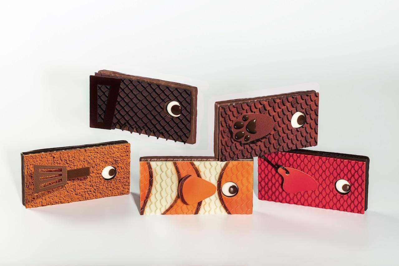 Banc poissons P óques La Maison du Chocolat