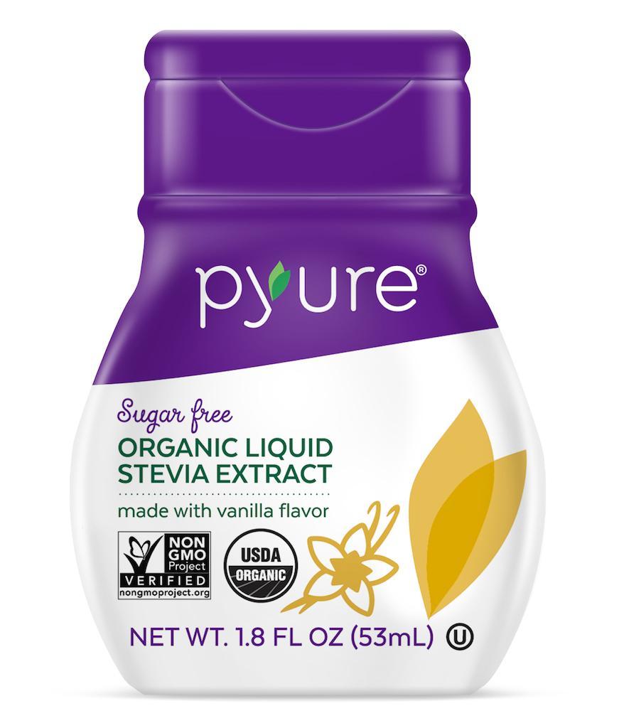 liquid stevia vanilla pyure