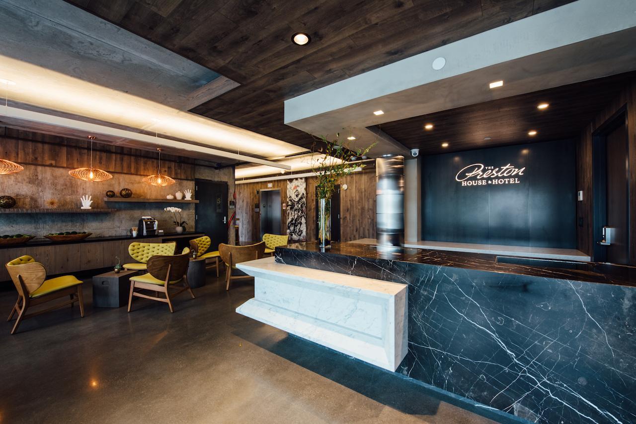 Preston Hotel Lobby