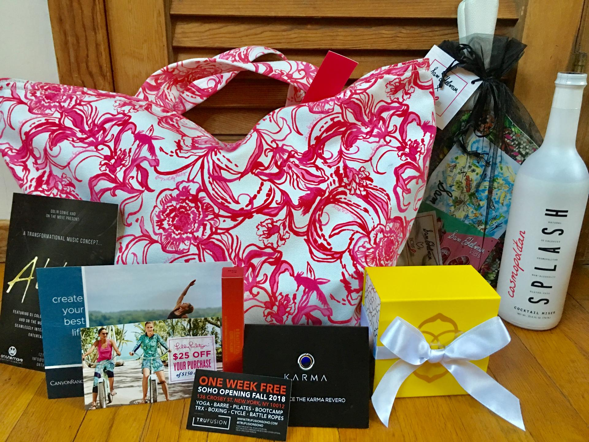 Party for Pink Hamptons Gift Bag