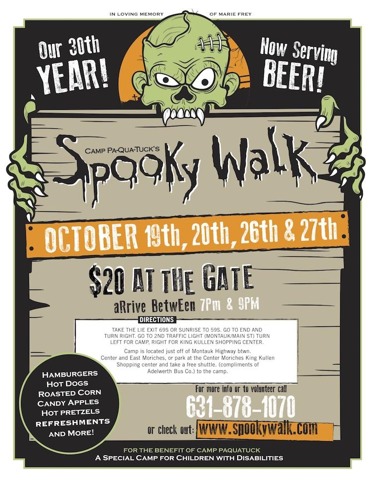Spooky Walk 2018 Center Moriches