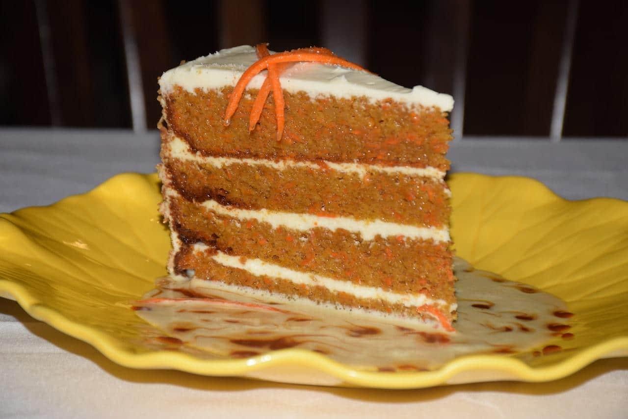 Claude's southampton carrot cake