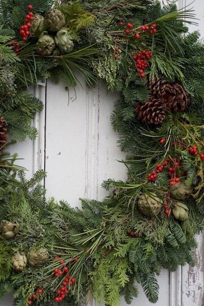 marders wreath holiday decorations hamptons