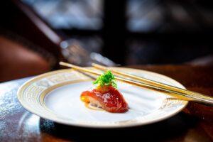Zuke Akami Sushi by Bou east end taste