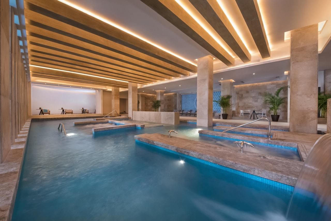 Spa Hydrotherapy haven resorts cancun east end taste