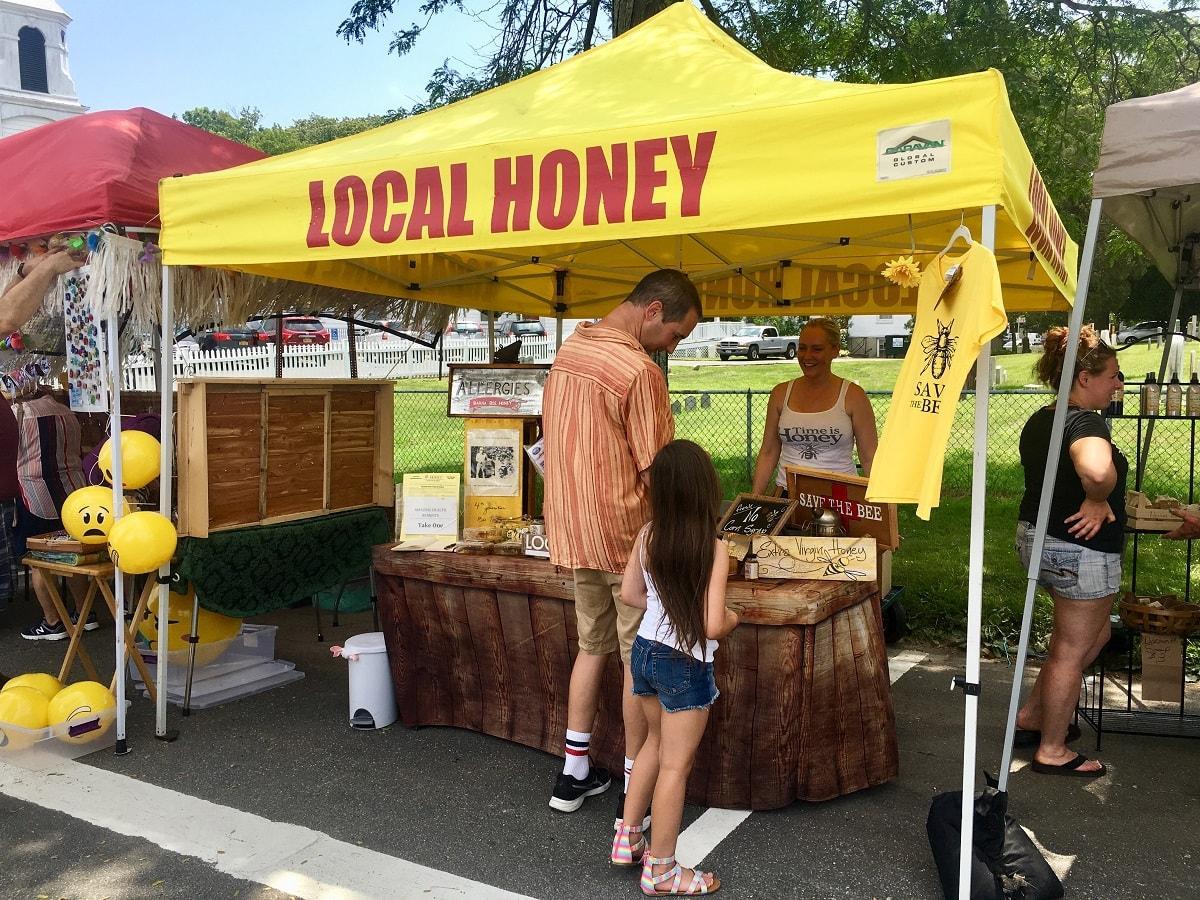 mattituck street fair east end taste local honey