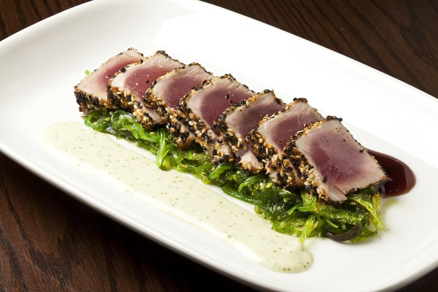 TBar southampton sesame tuna east end taste
