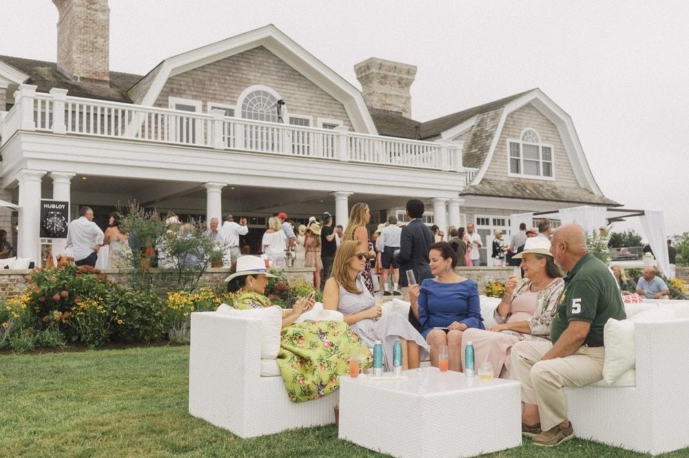 Inaugural Edmiston Charity Chukka In The Hamptons with Polo Icon Nacho Figueras