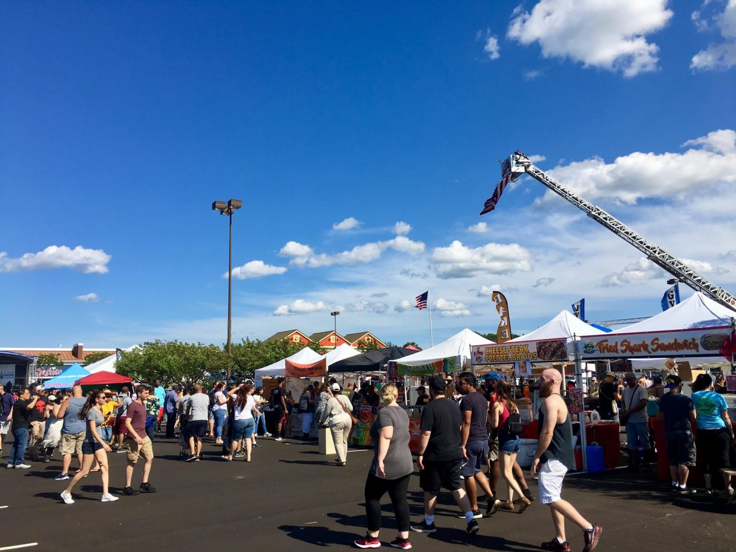 Famous Food Festival east end taste riverhead