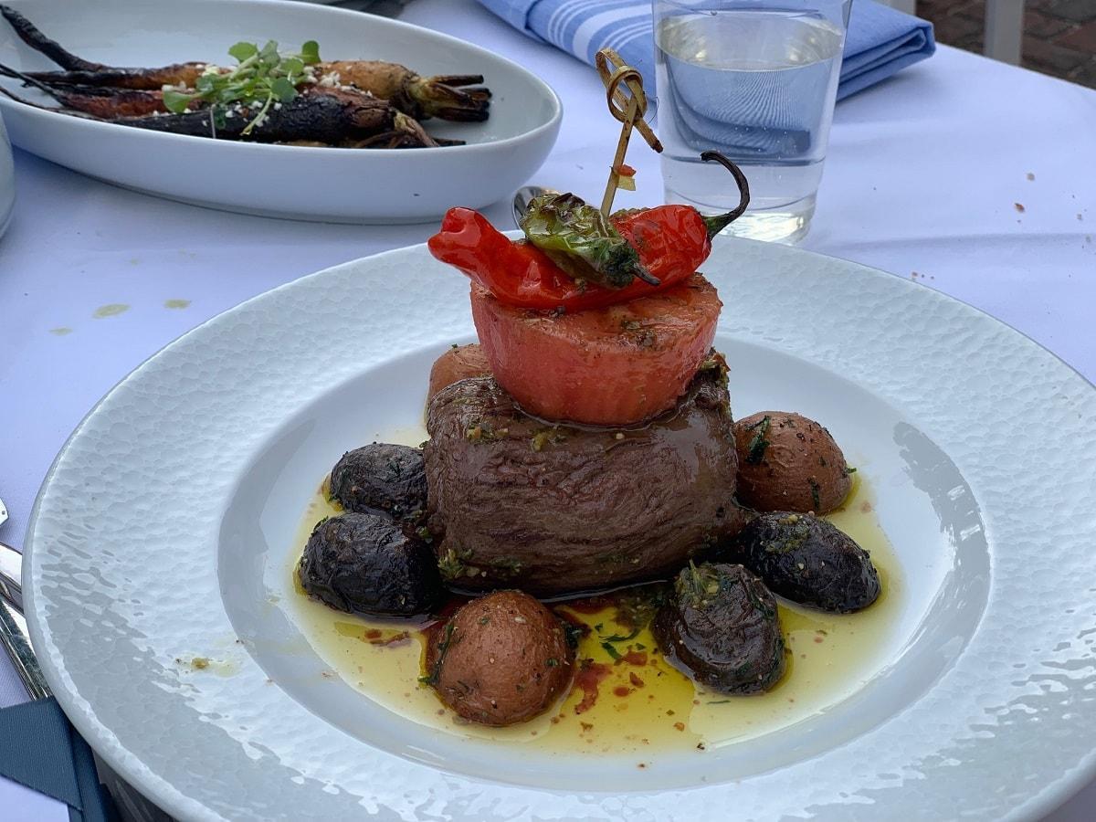 blu mar restaurant southampton new york steak dinner