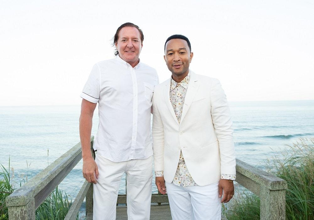 Larry Scott and John Legend