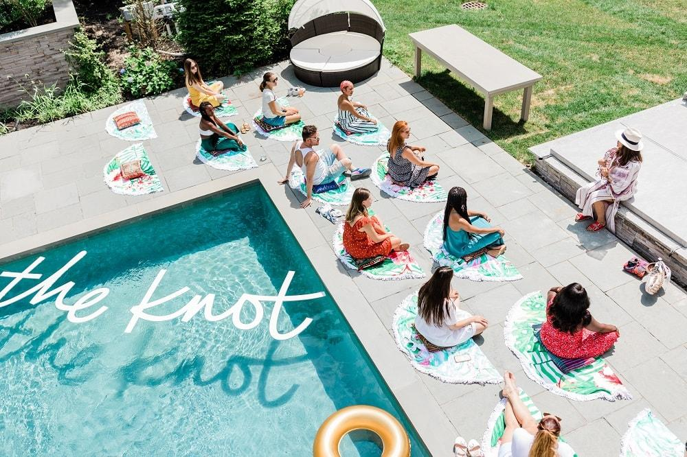 The Knot Registry House with Bachelorette Rachel Lindsay