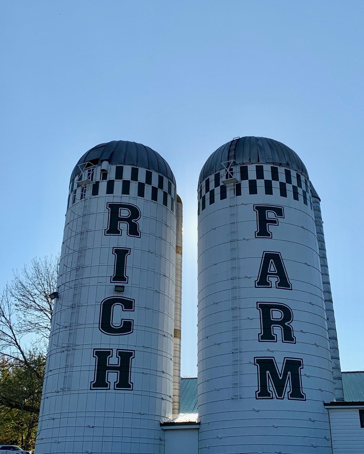 Rich Farm Ice Cream oxford ct