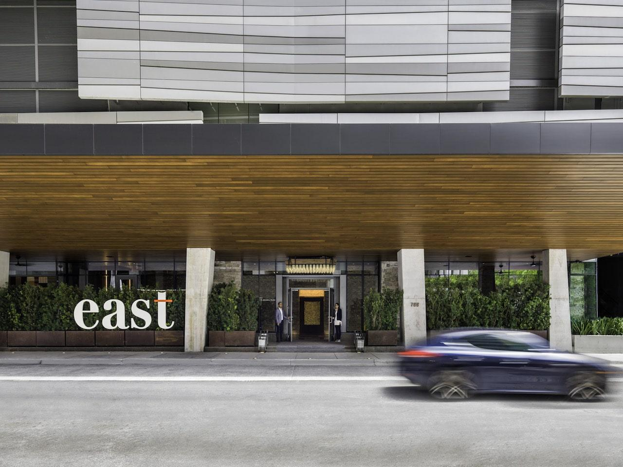 EAST Miami Brickell entrance