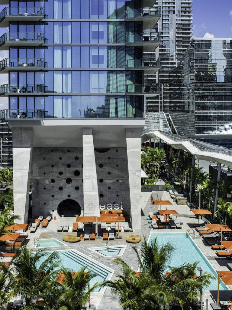 EAST Miami Brickell pool