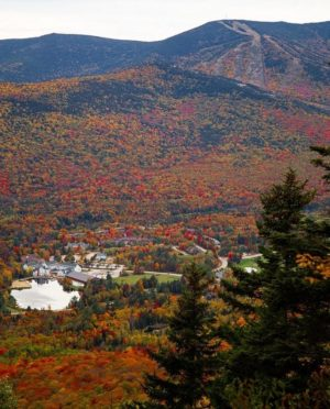 waterville valley autumn new hampshire