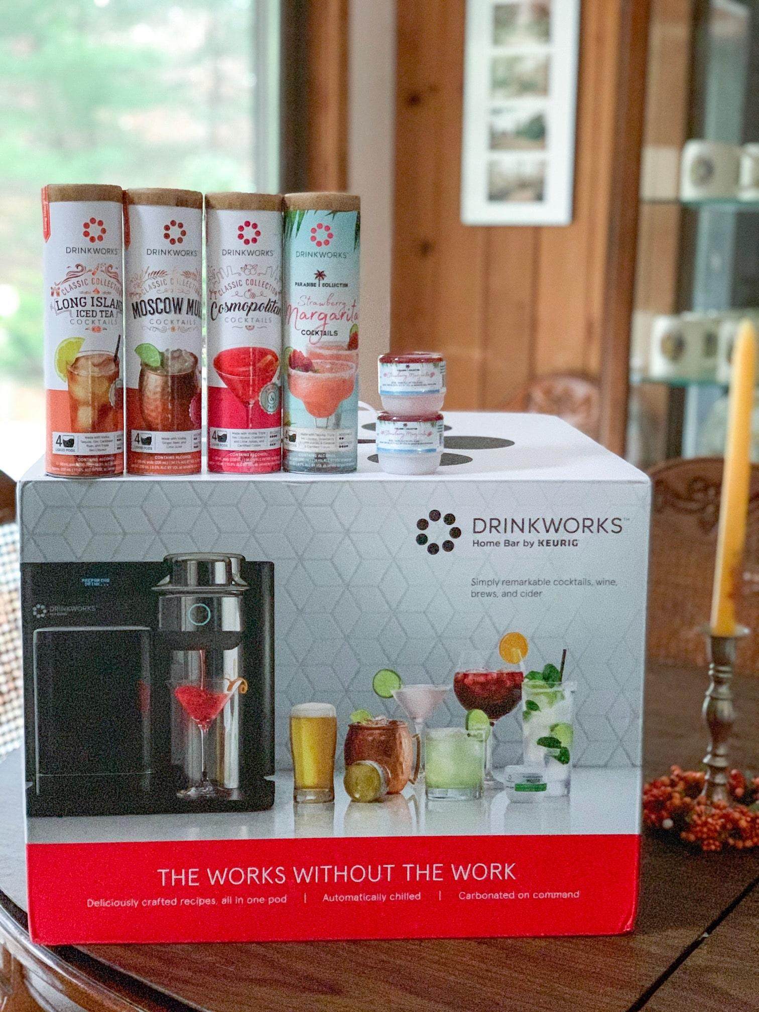 drinkworks home bar keurig machine