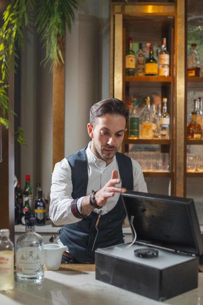 the rockwwell london bar restaurant cocktails
