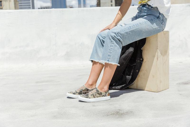 marley blowfish malibu camo sneaker
