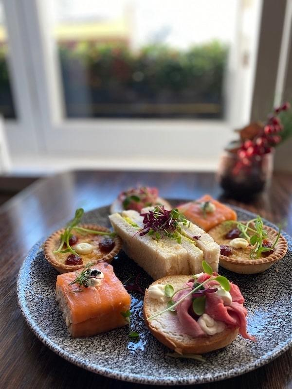 london marriott hotel park lane festive afternoon tea 2019 sandwiches