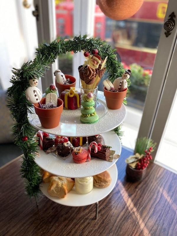 london marriott hotel park lane festive afternoon tea 2019