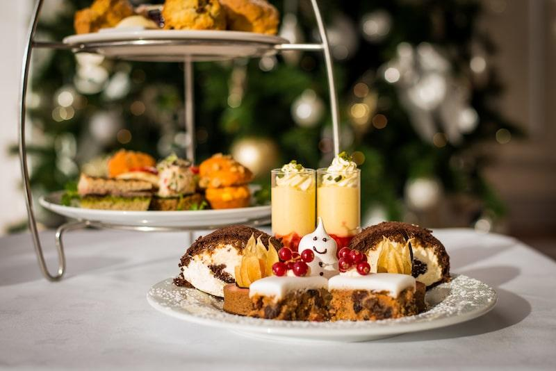 the g hotel spa festive afternoon tea galway