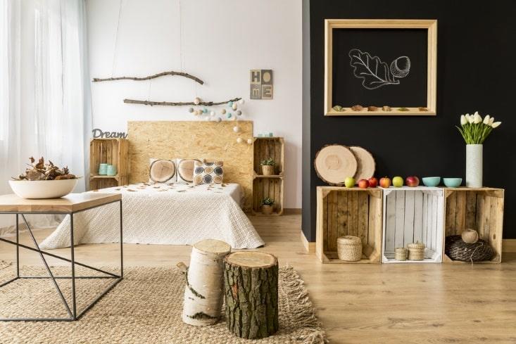 wooden style bedroom wood accessories design