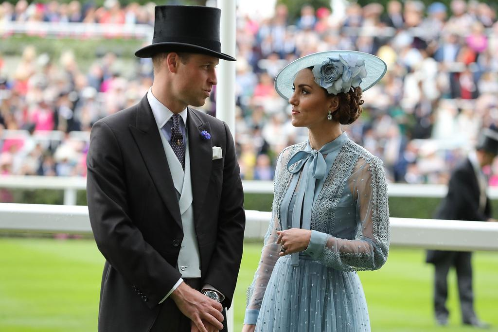 the duke and duchess of cambridge uk races