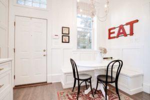 interior design kitchen ideas eat sign