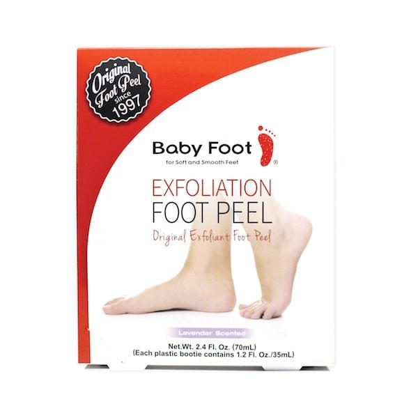 Baby Foot Org Foot Peel box front view 2400×2400-min