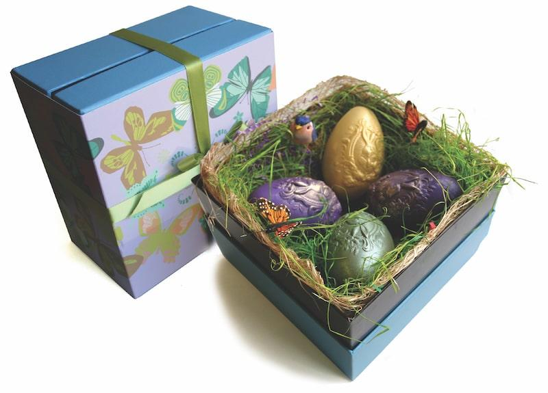 mariebelle easter egg box set chocolates nyc