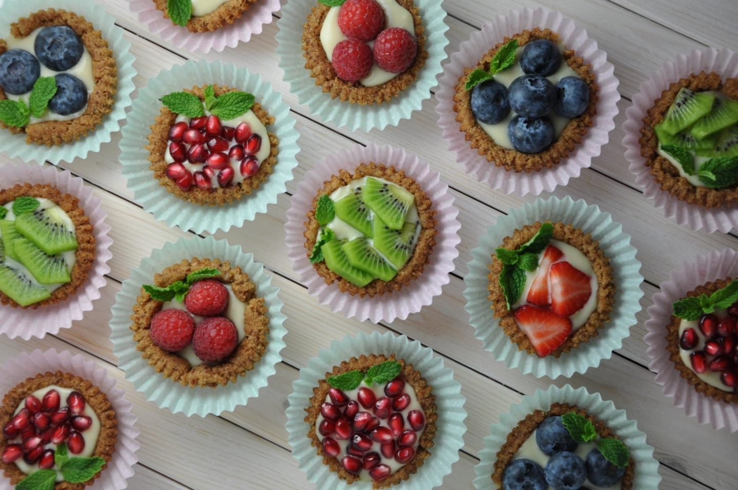 hi-res Fruit Tarts – Horizontal