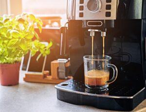 coffee espresso machine morning light